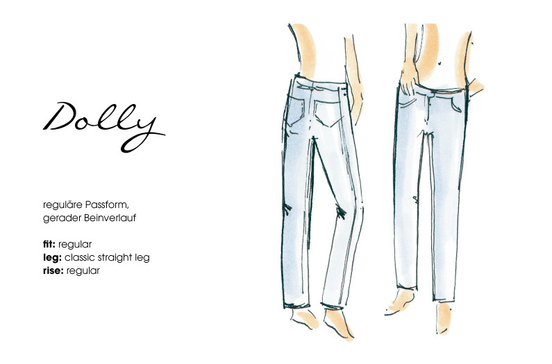 Angels Jeans Dolly Modellansicht